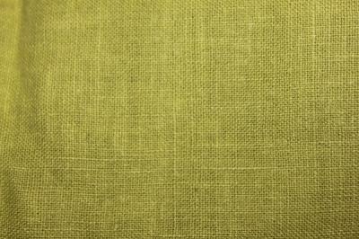 Конопляная ткань зеленая