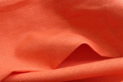 Ткань конопляная цвета персик