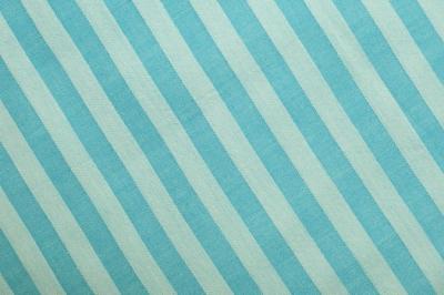Био хлопок ткань голубой в полоску