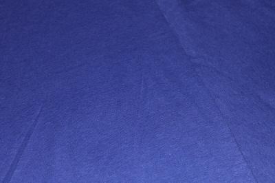 Конопляный трикотаж синий