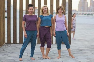 Длинные штаны для йоги