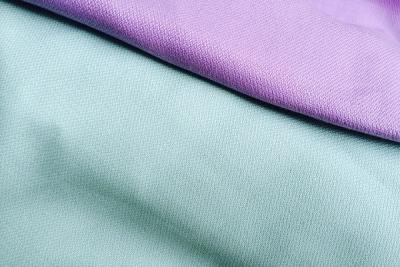 Ткань органический хлопок мятного цвета