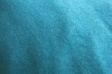 Утепленный трикотаж голубого цвета