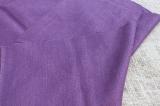 Ткань шерсть с коноплей сливовая