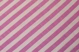 Хлопковая полосатая ткань, розовая полоска