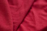 Ткань трикотаж утепленный красный