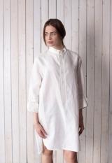 Платье из конопляной ткани