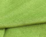 Ткань шерсть с коноплей зеленая