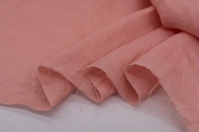 Ткань из крапивы Персиковый цвет
