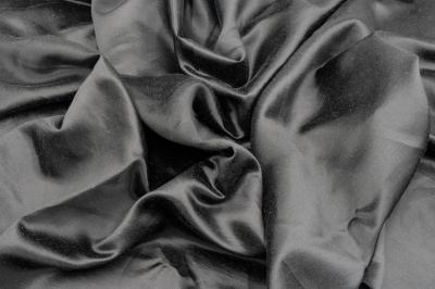 Ткань натуральный шелк черная
