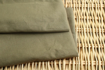 Thin Hemp Khaki Cloth