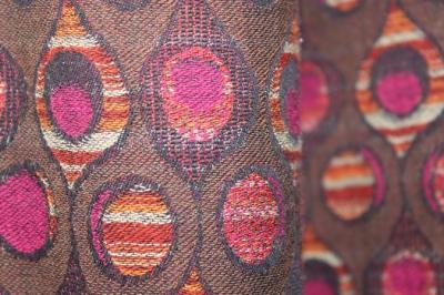 Designer organic cotton fabric