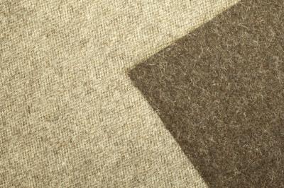 Woollen fabric, dark brown wool