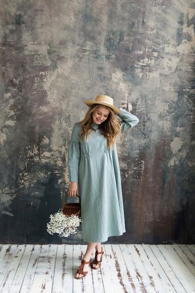 Платье из крапивы