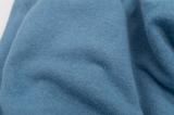 Ткань трикотаж тонкий цвета темной морской волны