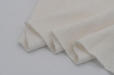 Ткань биохлопок вафельный натурального цвета