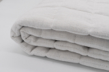 Плед одеяло стеганое конопляное